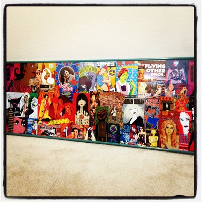 "PICTURE 8: ONLY 1 AVAILABLE! CUSTOM MADE ARTWORK BY SHE, 38"" X 13"" IN SIZE"