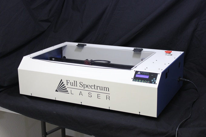 """Our brand new 5th generation totally redesigned 40w LASER with 20""""x12"""" work area. Assembled in Las Vegas, USA."""