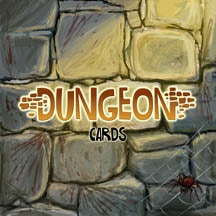 Final art: back of the dungeon cards.