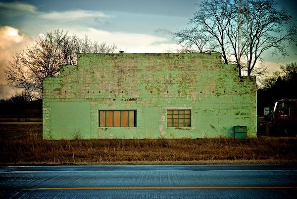 Green Facade, Highway One, near Solon, Iowa