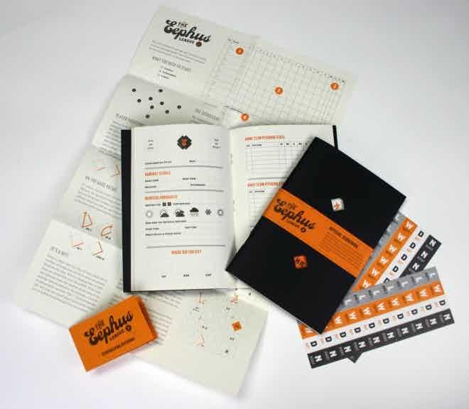 Final scorebook set; image from the Eephus League Shop