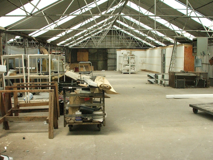 GrowHaus space before renovation