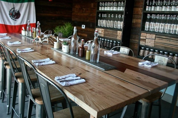 The Utilitarian Workshop Interior Table For Port Fonda