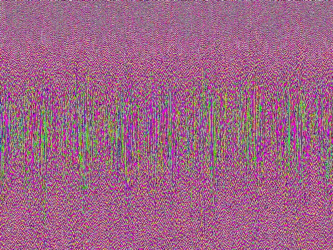 DCP 0190 used in the production of a Glitch Blanket