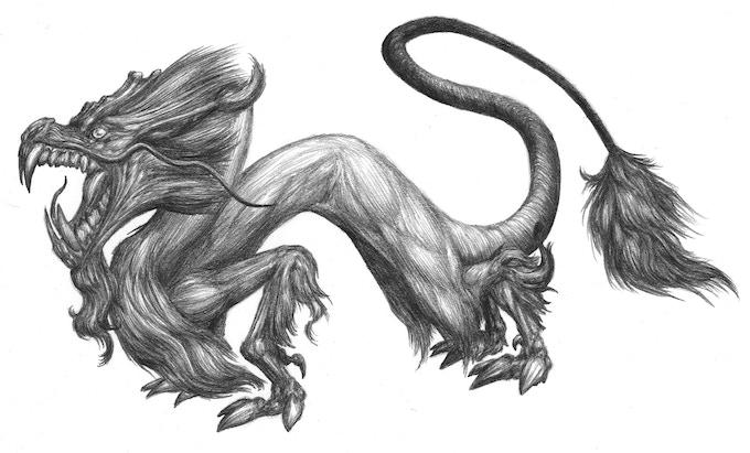 Kaidan Dragon by Mark Hyzer