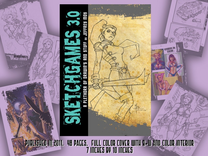 Add this book at the $60 level and get a 3rd original sketchcard too!
