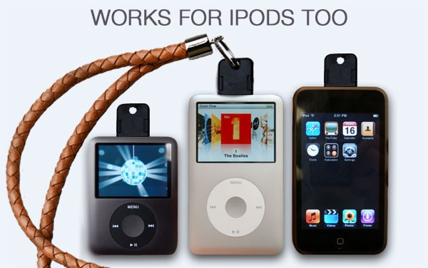 WORKS FOR IPOD TOO