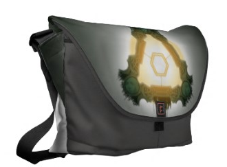 An ultra-practical and stylish messenger bag. Help support a local business- all bags will be handmade by Rickshaw Bagworks in San Francisco. You will get to carry Sidius Nova around so that she can keep an eye on you and the rest of humanity!