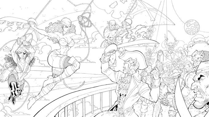 Pirate Queen Wallpaper