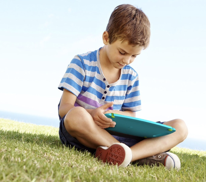 Protective, light & kidsafe the my:kidpad is great for anywhere gaming and play.
