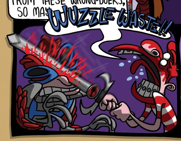 Wuzzle Waste Artwork by Nige Ward