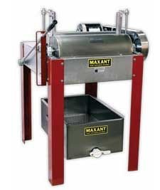 Uncapped frames on both sides in five seconds with a motorized chain uncapper!