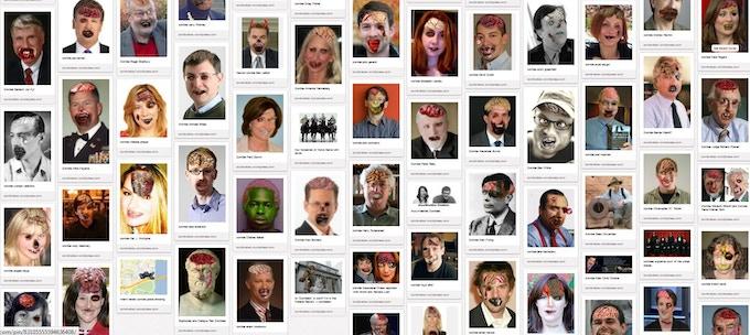 zombie portraits $3 each
