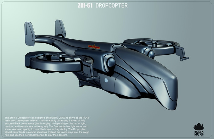Chinese helicopter concept. Image by Jeff Miller