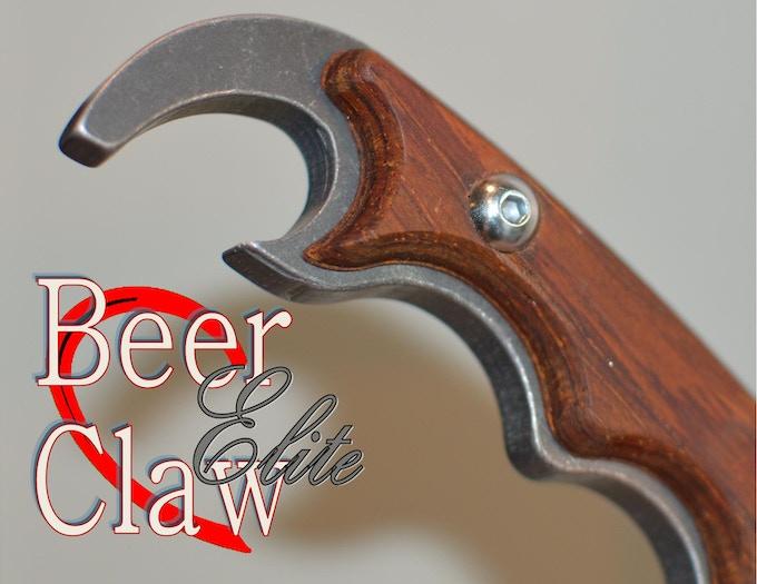 beer claw a bottle opener project by michael cain kickstarter. Black Bedroom Furniture Sets. Home Design Ideas
