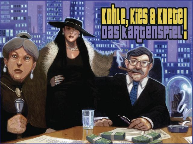Kohle, Kies und Knete (box cover)