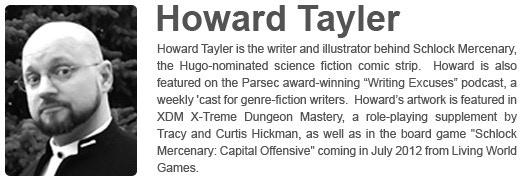 Howard Tayler's Website