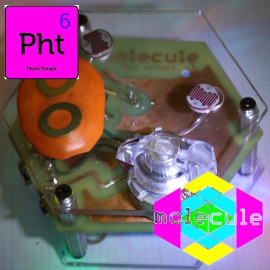 Photo Sensor (pictured with a contact sensor that is not included -- the contact sensor will be included in later hexes)