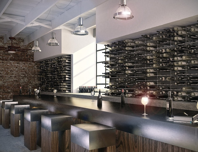 STACT is also perfect for wine lounges and fine restaurants