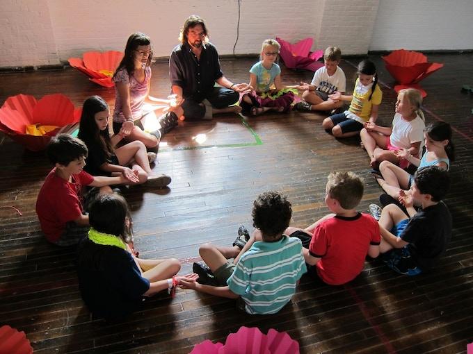 Shake, Waggle, and Drone // Honeybee & Shaker Dancing Workshop for Artlab: Utopia @ Matress Factory, Pittsburgh