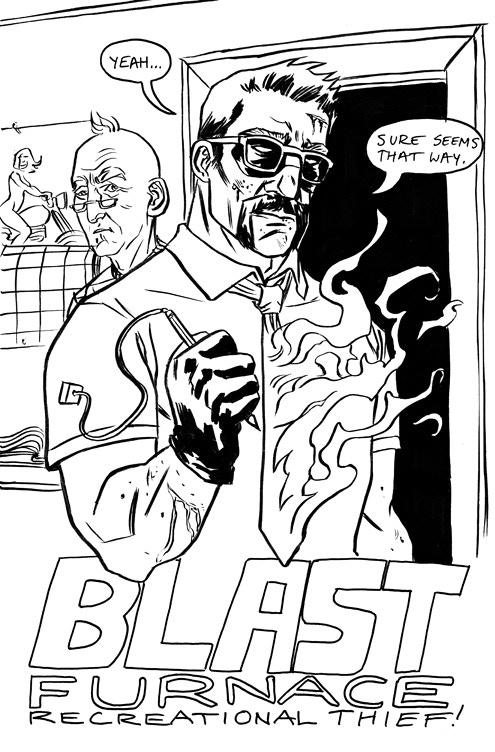 Blast Furnace: Recreational Thief Volume One! by Ryan