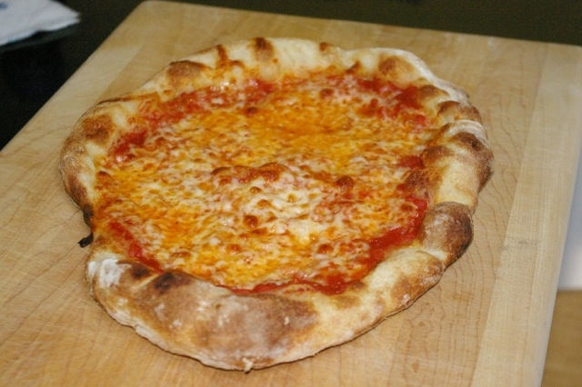 At the request of me, we had another family pizza night last night. Tuesday, August 22, 2012.