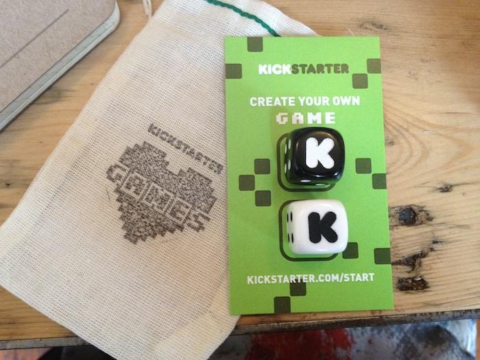 Kickstarter dice. KICKSTARTER DICE!?