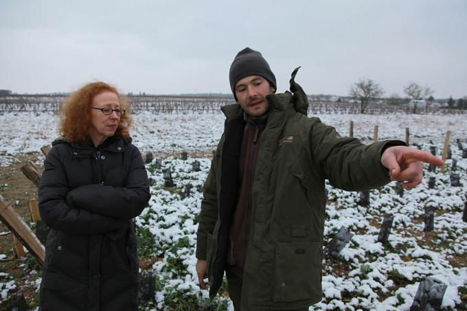 With Reynald in the Loire this winter