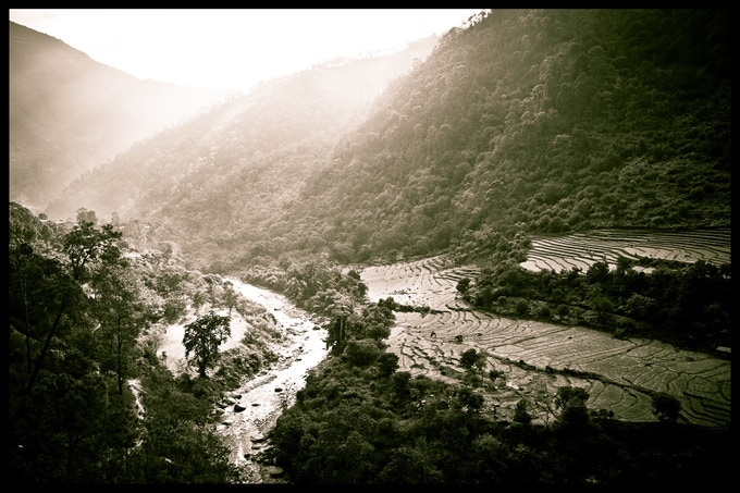 Bhutan showcases some of the most beautiful valleys in the world