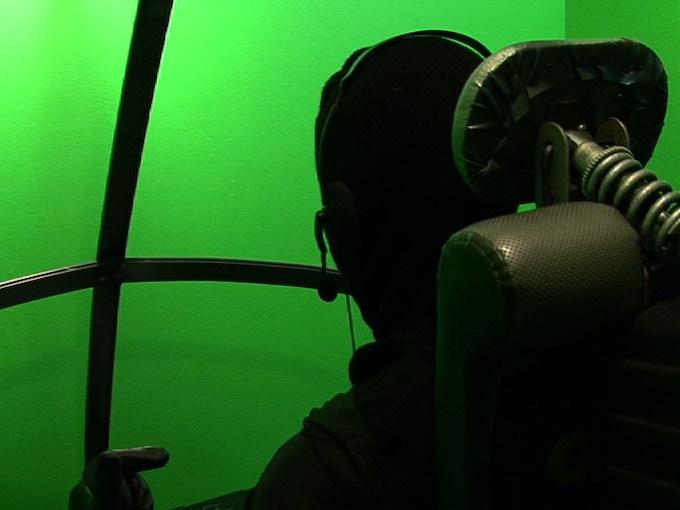 Pre-Production Cockpit