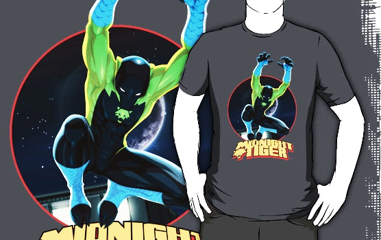 EXCLUSIVE MIDNIGHT TIGER T-SHIRT!
