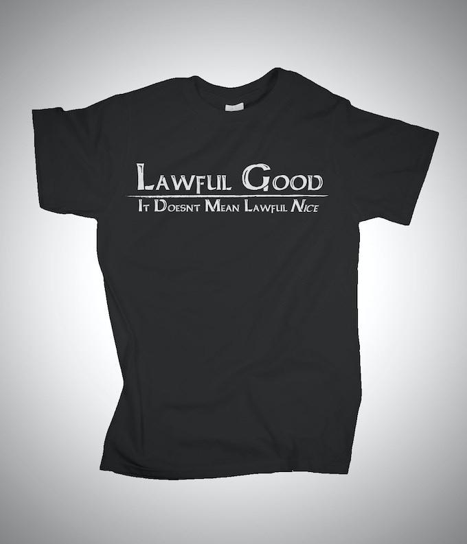 Lawful Good -It Doesn't Mean Lawful Nice