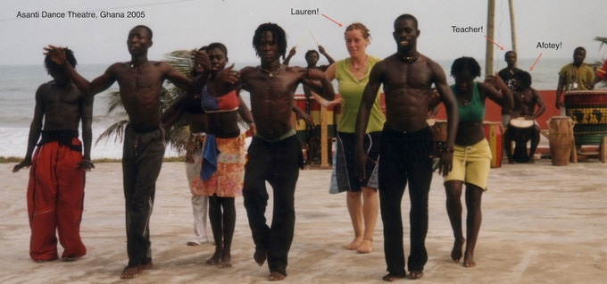 Youth to Youth: Ghanaian Cultural Drum & Dance by Lauren
