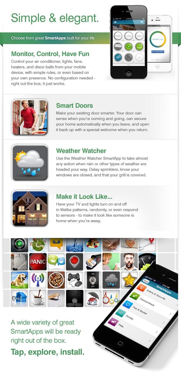 Smartthings Make Your World Smarter By Smartthings Kickstarter