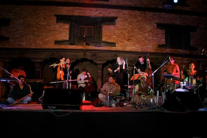 JazzMandu Jazz Festival, Katmandu, Nepal