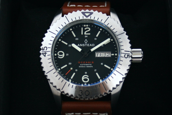 The OCEANIS automatic mechanical watch