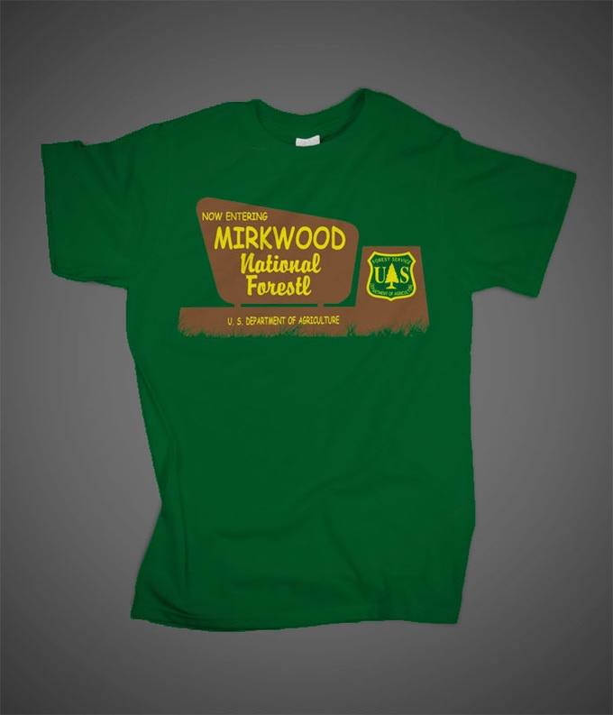 Now Entering Mirkwood National Forest