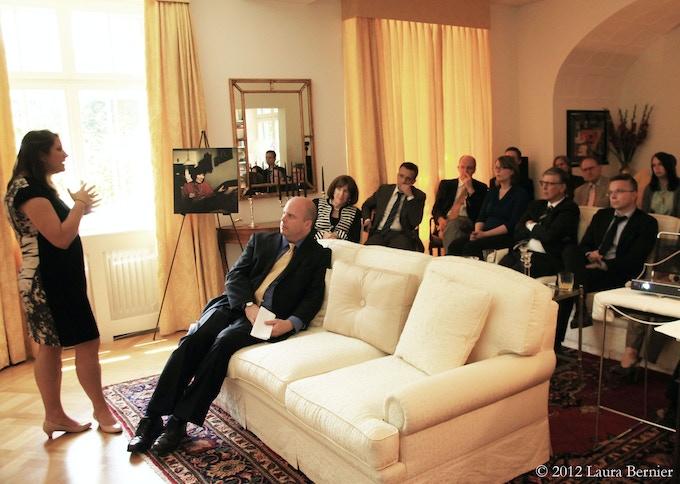 Presentation, United States Embassy, Bern, Switzerland, 2012