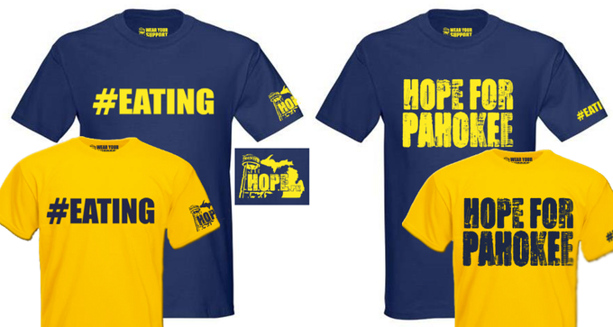 Basic #EATING shirt - choice of #EATING or HOPE FOR PAHOKEE