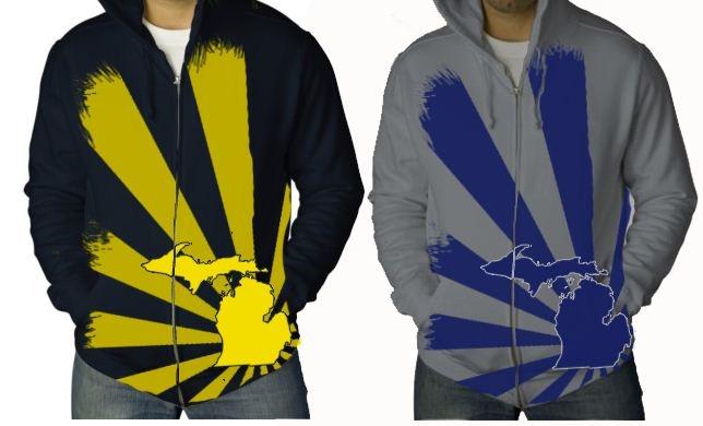 Rising MI hoodie