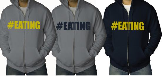 #EATING hoodie