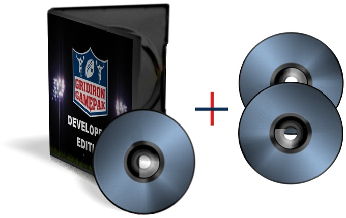Gridiron GamePak Developer's Edition + 2 Data Backup Discs
