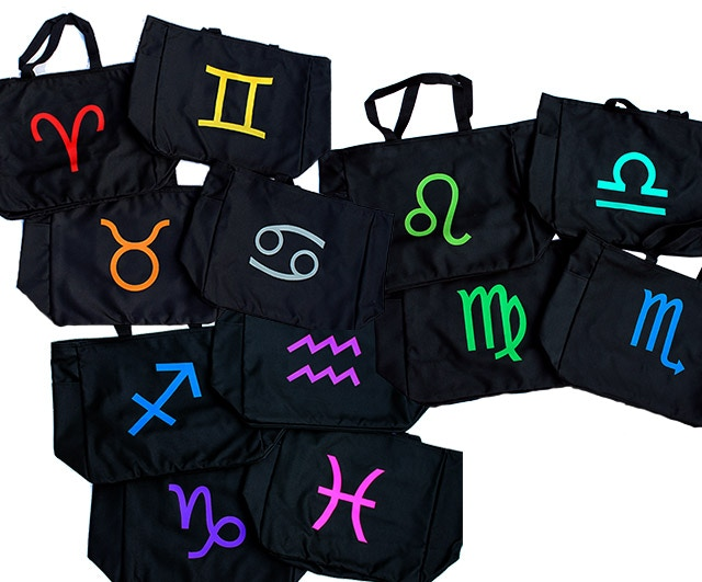 "Black Troll tote bags (14""w x 12""h x 6.5""d) -  Choose your favorite one"