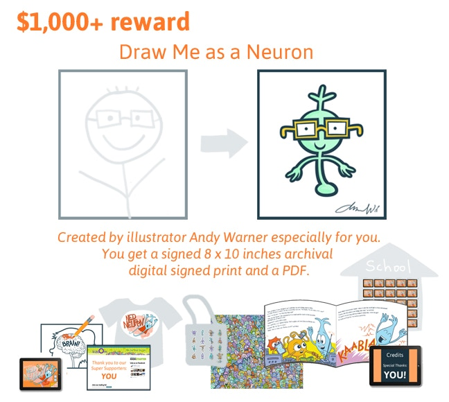 The adventures of ned the neuron by kizoom kickstarter go brains ccuart Gallery