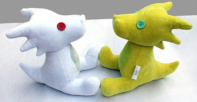 "Pyralspite or Senator Lemonsnout plushie - 11"" tall, button eyes, and cuddly-soft fabric. Pak comes with one plushie, which will be selected for you at random."