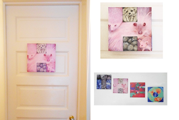 """Canvas prints are 12""""x12""""."""