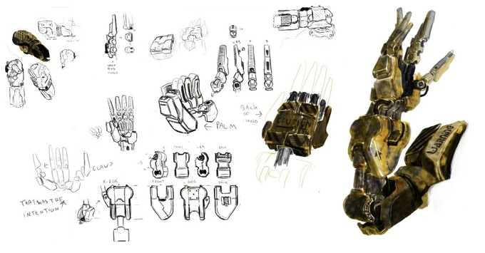 Claw Concept A