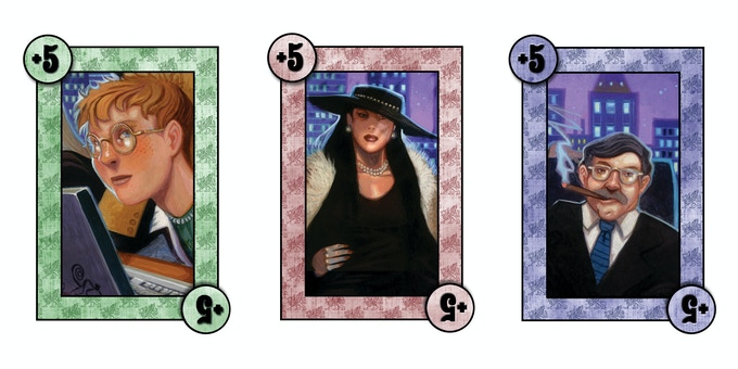 The additional cards for Piece of the Action