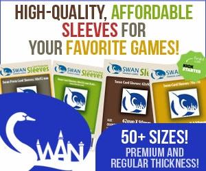Swan Panasia Card Sleeves Kickstarter Project