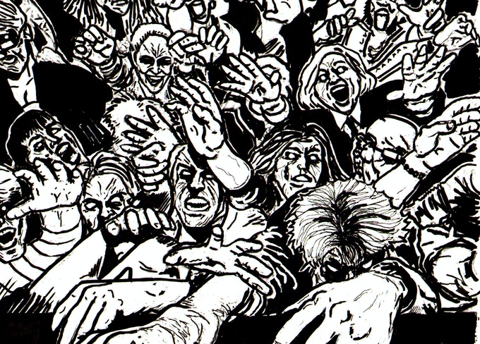 Frank Miller Vs Occupy Wall Street Vs Zombies Hell Yeah